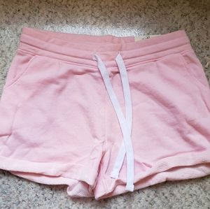 Pink cotton shorts